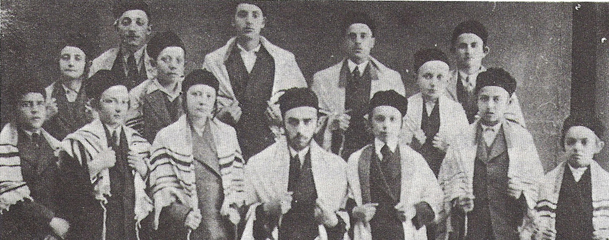 The synagogue choir